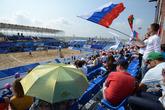 Универсиада.Пляжный волейбол.© «РИА Новости»