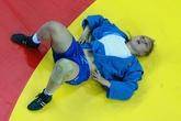 Жанара Кусанова после проигрыша