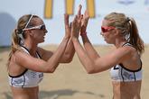 пляжный волейбол. матч россия-белорусия.© «РИА Новости»